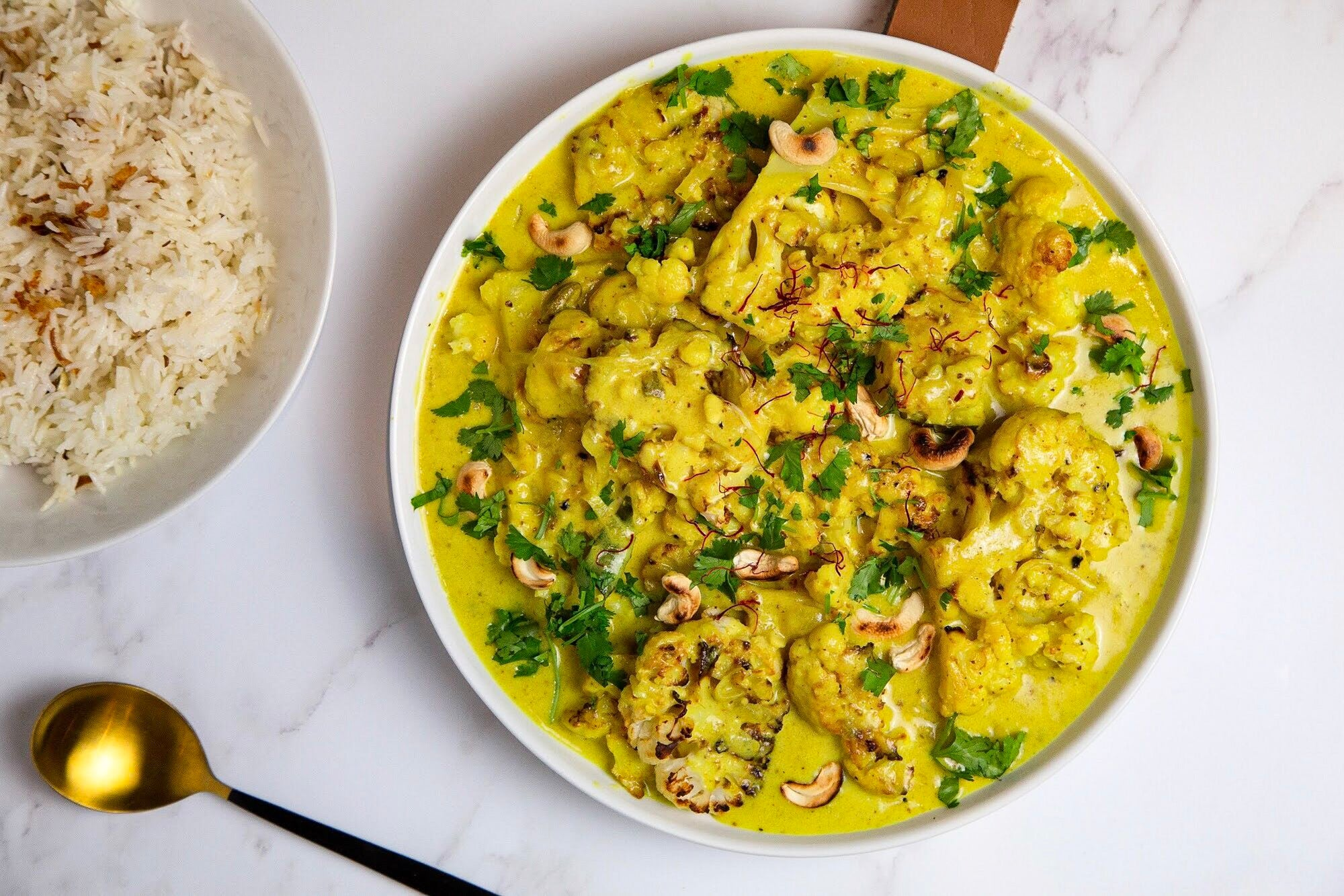 Cauliflower, Turmeric and Coconut Curry