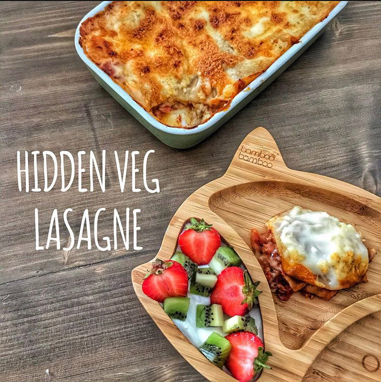 Hidden Vegetable Lasagne by Hayley Illidge