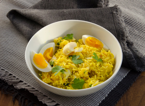Smoked Haddock Kedgeree by Lost in Food