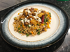Moroccan Chicken with Pearl Couscous by Neha D'Souza
