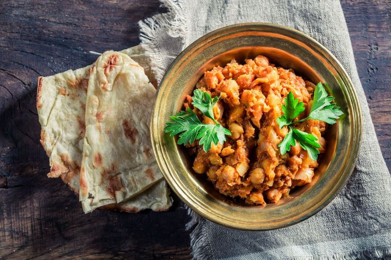 Spicy Masala Chickpeas