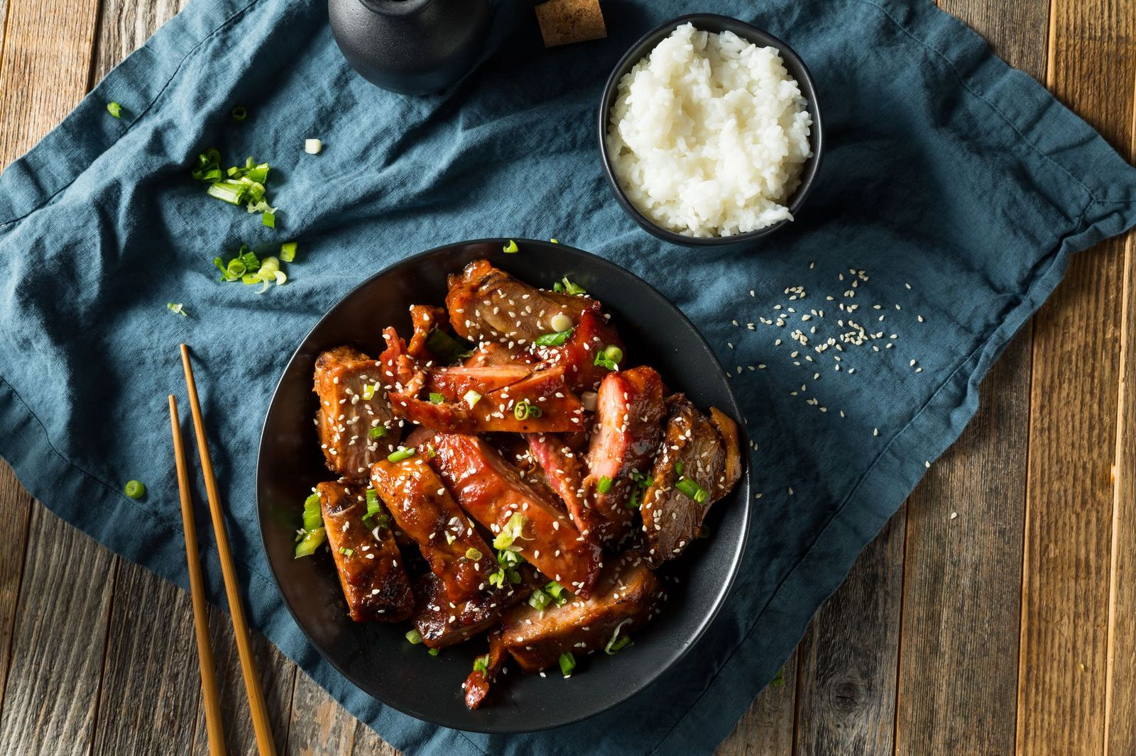 Sticky Chinese Pork Ribs