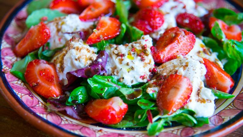 Salad of Strawberries and Balsamic