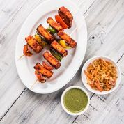 Grilled Paneer & Vegetable Kebab