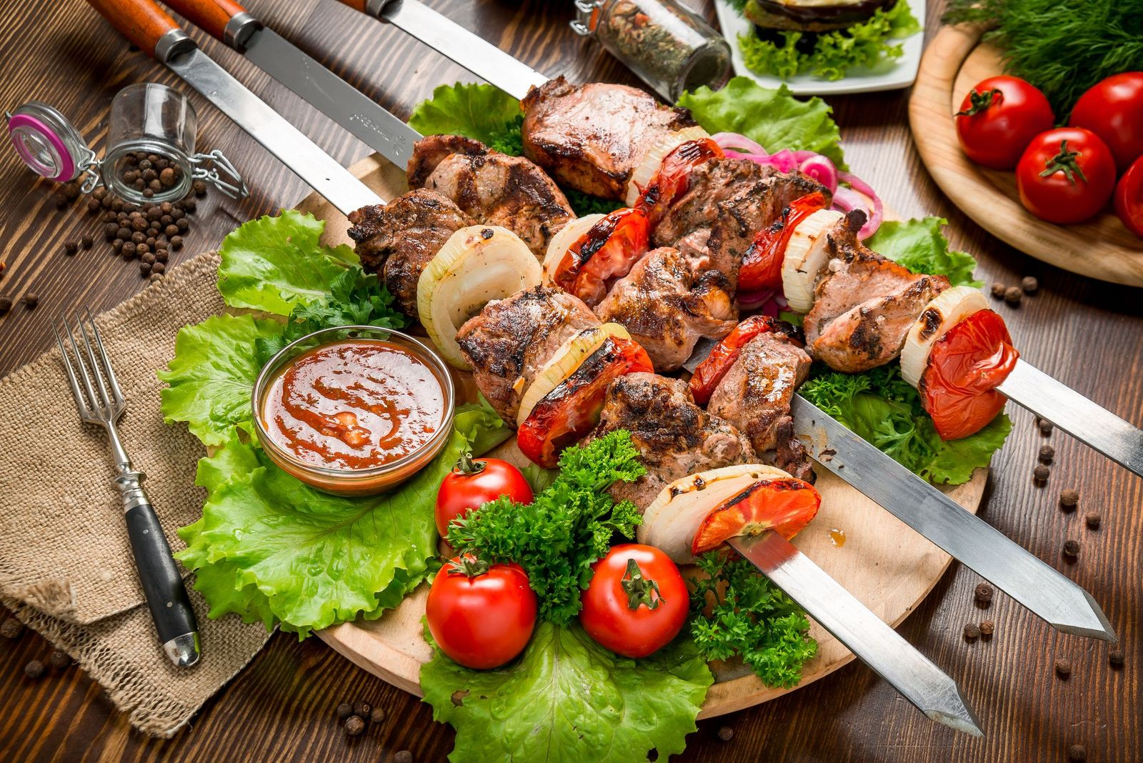 Turkish Lamb Shish Kebab