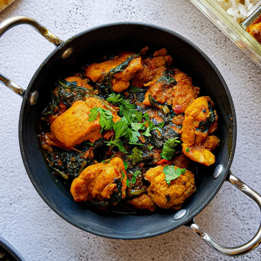 QUICK CHICKEN SAAG RECIPE BY MANI