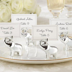 Elephant Wedding Placecard Holders - Spice Kitchen - Spices, Spice Blends, Gifts & Cookware