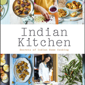 'Indian Kitchen' by Maunika Gowardhan & Spice Tin, 10 Spices & Handmade Silk Sari Wrap - Spice Kitchen - Spices, Spice Blends, Gifts & Cookware