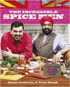 Cyrus Todiwala & Tony Singh 'The Incredible Spice Men' Cookbook & Spice Tin, 10 Spices & Handmade Silk Sari Wrap - Spice Kitchen UK - Spices, Spice Blends, Gifts & Cookware - 1
