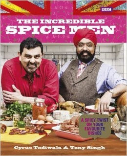 Cyrus Todiwala & Tony Singh 'The Incredible Spice Men' Cookbook & Spice Tin, 10 Spices & Handmade Silk Sari Wrap - Spice Kitchen - Spices, Spice Blends, Gifts & Cookware