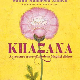 Khazana by Saliha Mahmood Ahmed & Spice Tin, 9 Spices & Handmade Silk Sari Wrap