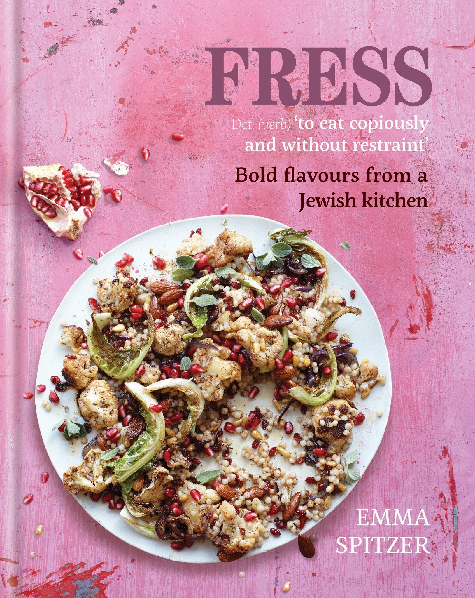 'Fress' by Emma Spitzer (Signed Copy) & Middle Eastern Spice Tin, 9 Spices & Handmade Silk Sari Wrap - Spice Kitchen - Spices, Spice Blends, Gifts & Cookware