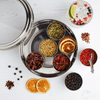 Gin Botanicals Tin with 7 Botanicals & Handmade Silk Sari Wrap - Spice Kitchen - Spices, Spice Blends, Gifts & Cookware