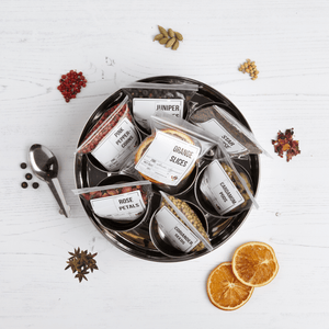 Gin Botanicals Tin with 7 Botanicals - Spice Kitchen - Spices, Spice Blends, Gifts & Cookware