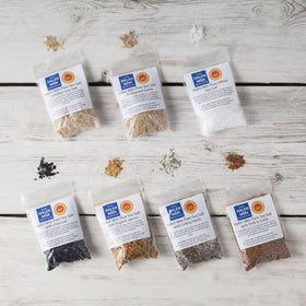 Halen Môn Flavoured Sea Salts Collection with 7 Flavoured Salts - Spice Kitchen - Spices, Spice Blends, Gifts & Cookware