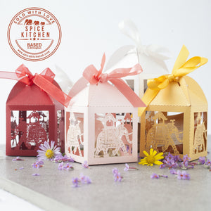 Laser Cut Elephant Paper House Wedding Favours - Spice Kitchen - Spices, Spice Blends, Gifts & Cookware
