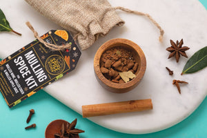 Mulled Wine & Spiced Cider Spice Packs | Great Taste Award 2017 | Voted One UK's Best - Spice Kitchen - Spices, Spice Blends, Gifts & Cookware