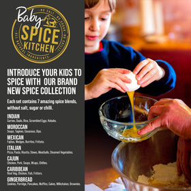 Baby Spice Kitchen - Introduce Your Kids to Spice With Our Brand New Spice Collection - Spice Kitchen - Spices, Spice Blends, Gifts & Cookware