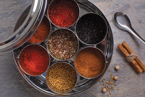 African & Middle Eastern Spice Tin with 9 Spices - Spice Kitchen - Spices, Spice Blends, Gifts & Cookware