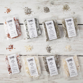 Salt Pigs Flavoured Sea Salts Collection with 7 Flavoured Salts - Spice Kitchen - Spices, Spice Blends, Gifts & Cookware