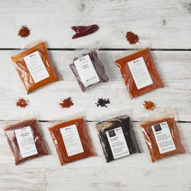 International Chilli Collection with 7 Chillies - Spice Kitchen - Spices, Spice Blends, Gifts & Cookware