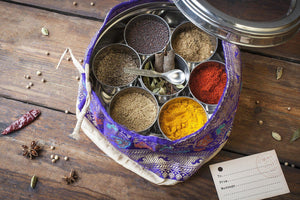 'Saffron Soul' signed by Mira Manek & Indian Spices - Spice Kitchen - Spices, Spice Blends, Gifts & Cookware