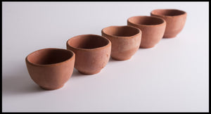 Biodegradeable Clay Chai Cups 65ml - Spice Kitchen™ - Spices, Spice Blends, Gifts & Cookware