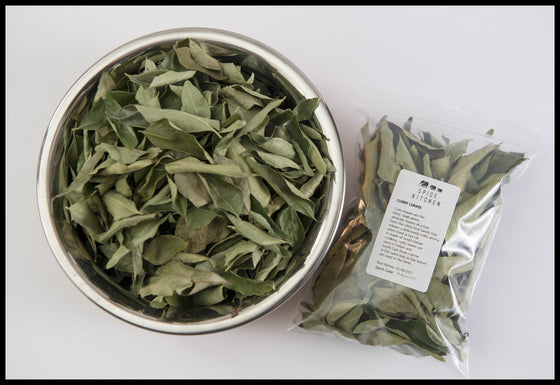 Curry Leaves Organic - Dried 10g - Spice Kitchen UK - Spices, Spice Blends, Gifts & Cookware - 1