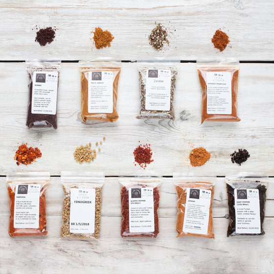9 African & Middle Eastern Spice Collection - Spice Kitchen UK - Spices, Spice Blends, Gifts & Cookware