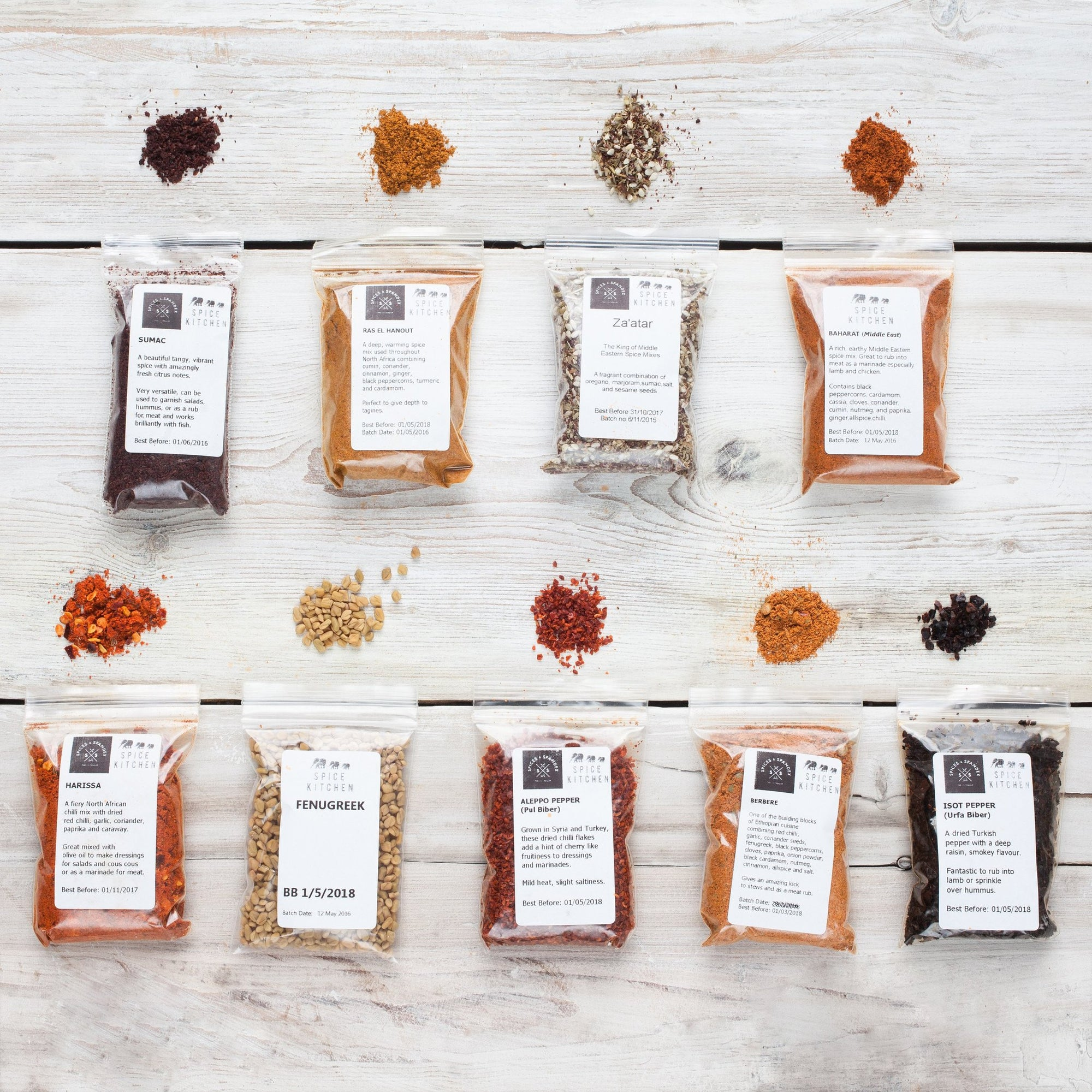 World Spice Blends & BBQ Rubs Collection - Spice Kitchen - Spices, Spice Blends, Gifts & Cookware