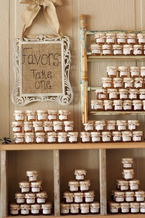 Honey Wedding Favours. Honey sourced from small UK honey producers. - Spice Kitchen - Spices, Spice Blends, Gifts & Cookware