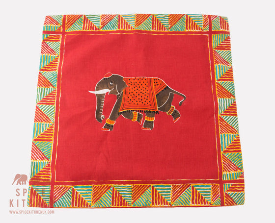 Indian Inspired Elephant Cushions - Spice Kitchen - Spices, Spice Blends, Gifts & Cookware