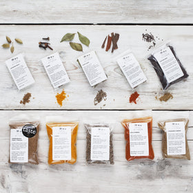 10 Indian Spice Collection including award winning Garam Masala - Spice Kitchen - Spices, Spice Blends, Gifts & Cookware