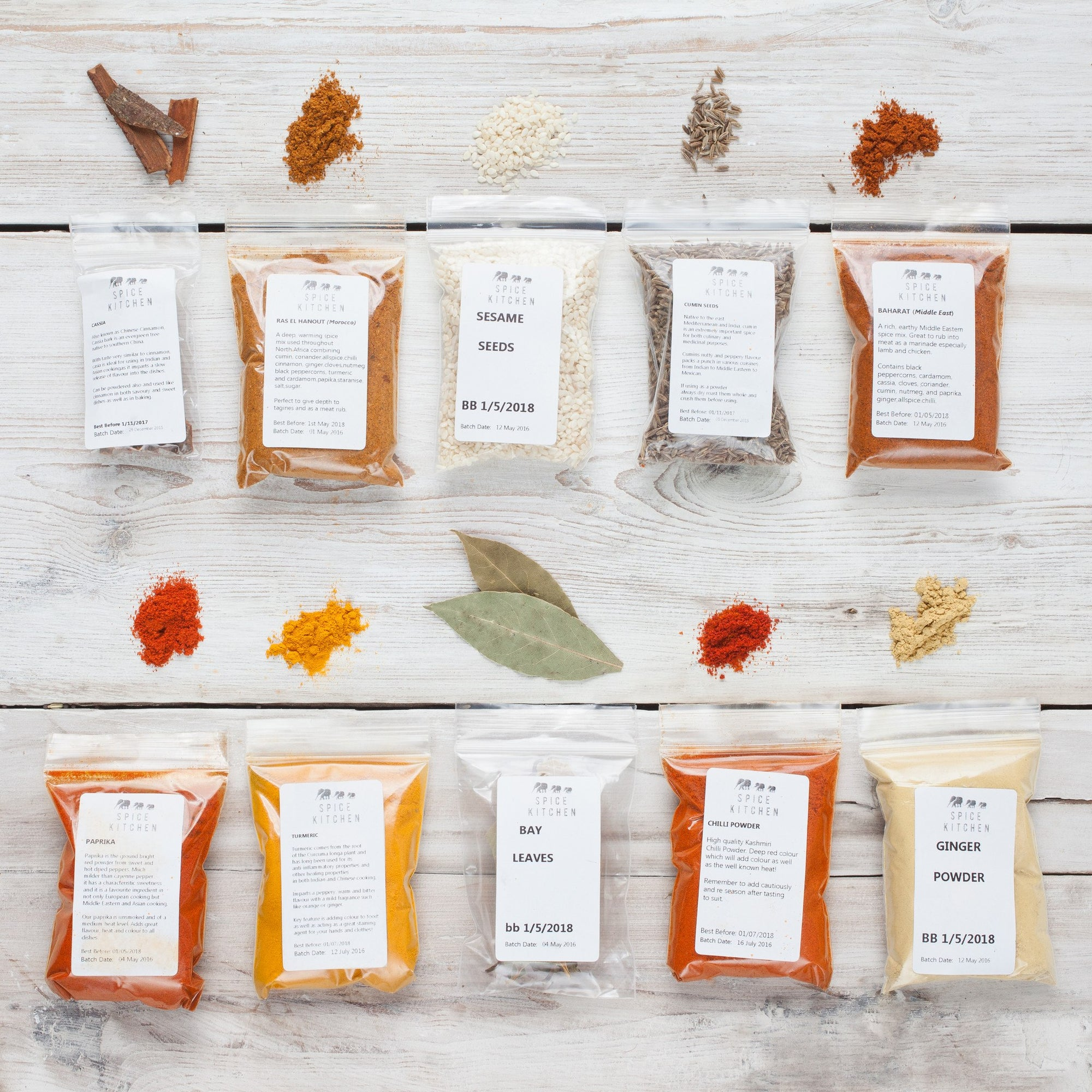 Spice Refills - Spice Pic 'n' Mix! Choose from over 75 items - Spice Kitchen - Spices, Spice Blends, Gifts & Cookware