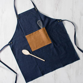 Spice Kitchen Denim Utility Apron - Spice Kitchen - Spices, Spice Blends, Gifts & Cookware