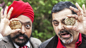 Cyrus Todiwala & Tony Singh 'The Incredible Spice Men' Cookbook & Spice Tin, 9 Spices & Handmade Silk Sari Wrap - Spice Kitchen - Spices, Spice Blends, Gifts & Cookware