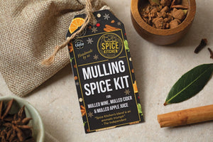 Mulled Wine & Spiced Cider Spice Packs | Great Taste Award 2017 | Voted One of UK's Best - Spice Kitchen - Spices, Spice Blends, Gifts & Cookware