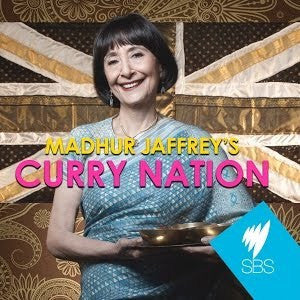 Madhu Jaffrey's 'Curry Nation' Cookbook & Spice Tin, 10 Spices & Handmade Silk Sari Wrap - Spice Kitchen UK - Spices, Spice Blends, Gifts & Cookware - 1