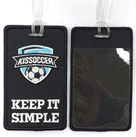 KISsoccer Bag Tag / Luggage Tag