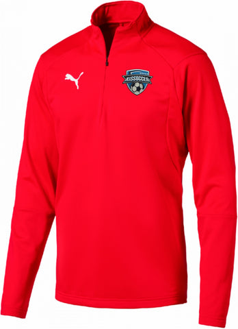 Puma LIGA Training 1/4 Zip Top Jr. [KISsoccer]