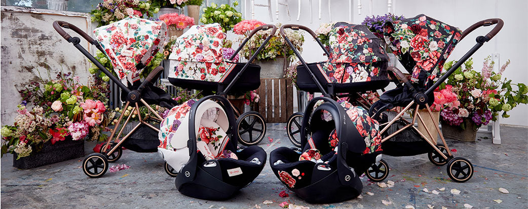 Cybex Priam Sping Blossom Dark