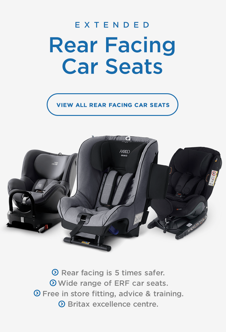 Wide Range Extended Rear Facing Car Seats South West