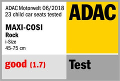 Maxi-Cosi Rock i-Size ADAC Test Results Summer 2018