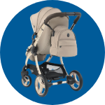 egg2 Feather Stroller With Backpack