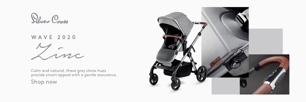 Silver Cross Wave 2020 Twin Pram