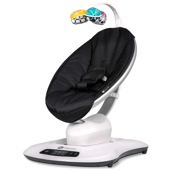 4 Moms MamaRoo Bouncer 4.0 Classic Black Rocking Bouncing Cradles 17-37-004 784862134089