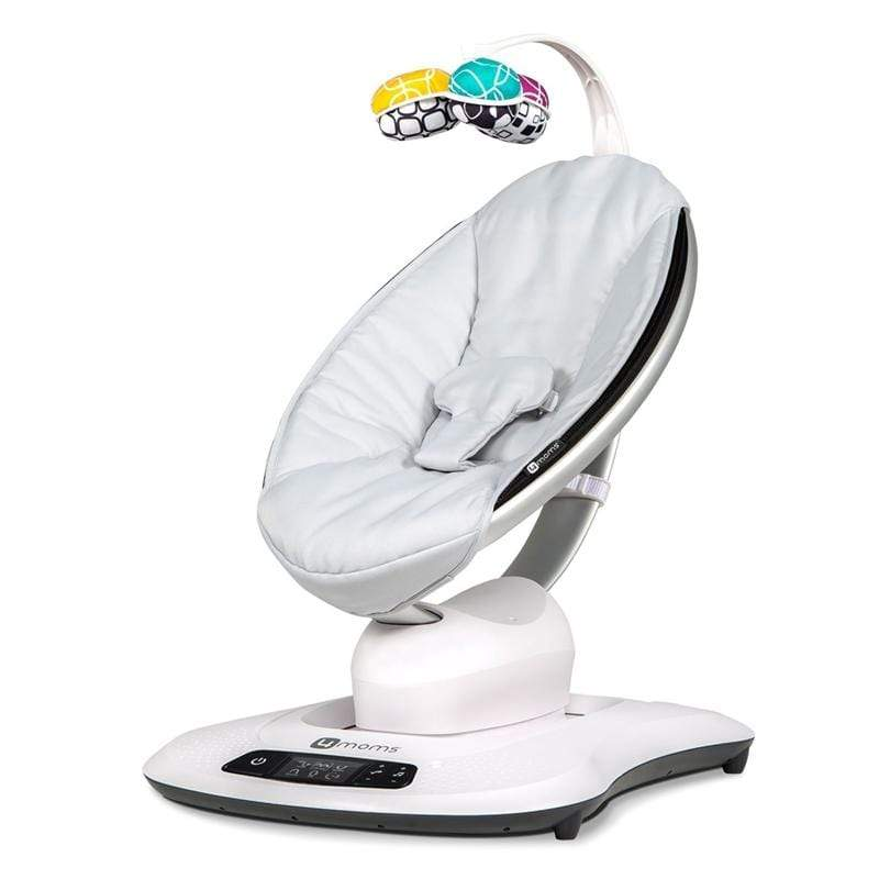 4 Moms MamaRoo Bouncer 4.0 Classic Grey Rocking Bouncing Cradles 17-37-003 817980016682