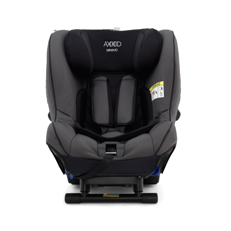 Axkid Minikid Car Seat Granite & Free Car Seat Wedge 0-25 kgs (Birth to 6 Years) 6RFHO72