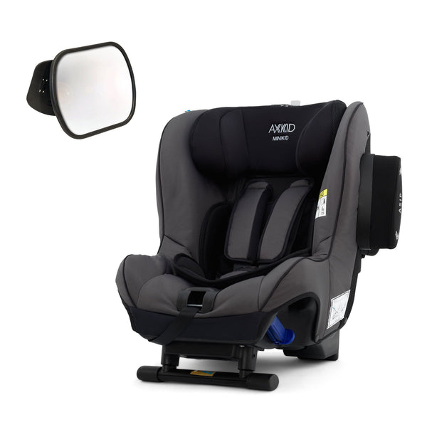 Axkid Minikid Car Seat Granite with Free Baby Mirror 0-25 kgs (Birth to 6 Years) OJFPAWK