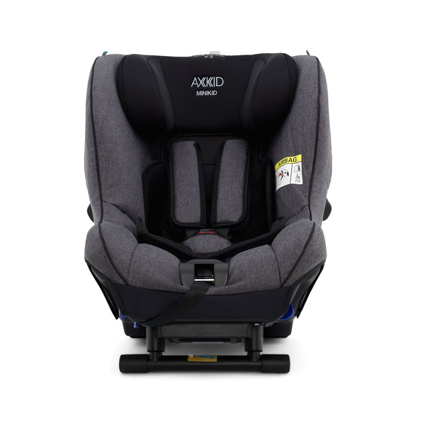 Axkid Minikid ERF Car Seat 2018 Premium Granite Melange 0-25 kgs (Birth to 6 Years) 22140222